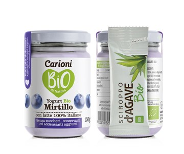 YOGURT AL MIRTILLO BIO G. 150