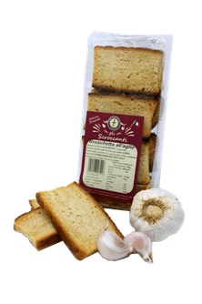 BRUSCHETTA BIO ALL'AGLIO 150G