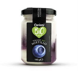 YOGURT BIO GUSTO MIRTILLO 140G
