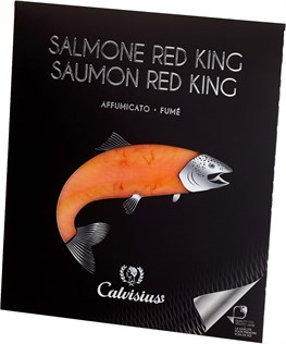 SALMONE REALE RED KING AFFUMICATO  G 90